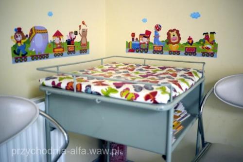 Poczekalnia dla dzieci zdrowych